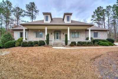 Edgefield County Single Family Home For Sale: 253 Eutaw Springs Trail