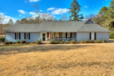 North Augusta Single Family Home For Sale: 2 Flintlock Drive