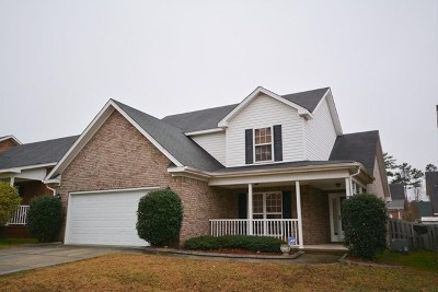 Grovetown Single Family Home For Sale: 7641 Pleasantville Way