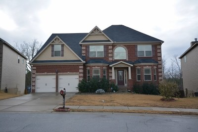 Grovetown Single Family Home For Sale: 4024 Lakewood Drive