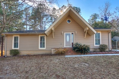 Hephzibah Single Family Home For Sale: 2724 Cranbrook Drive