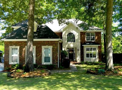 Grovetown Single Family Home For Sale: 406 Wade Plantation Drive