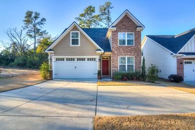 Augusta Single Family Home For Sale: 1221 Reid Road