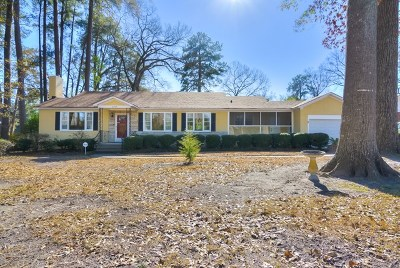 Augusta Single Family Home For Sale: 2704 Lakewood Drive