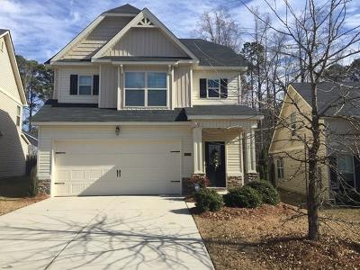 Grovetown Single Family Home For Sale: 1109 Sierra Lane
