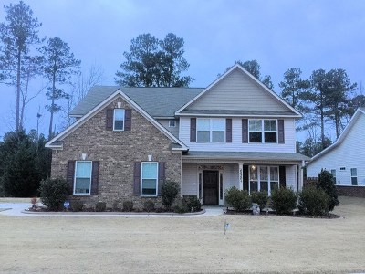 Grovetown Single Family Home For Sale: 4020 Corners Way
