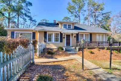 Augusta Single Family Home For Sale: 721 Monte Sano Avenue