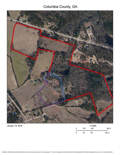 Columbia County Residential Lots & Land For Sale: Leitner Mill Road