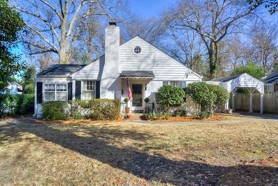 Augusta Single Family Home For Sale: 3115 Bransford Road