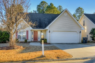 Grovetown Single Family Home For Sale: 1961 Shoreline Drive
