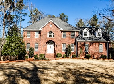 North Augusta Single Family Home For Sale: 649 Savannah Barony Drive