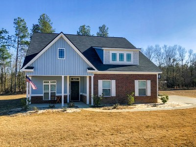 Columbia County, Richmond County Single Family Home For Sale: 1355 Oak Ridge Plantation Road