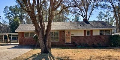 North Augusta Single Family Home For Sale: 707 Riverview Drive