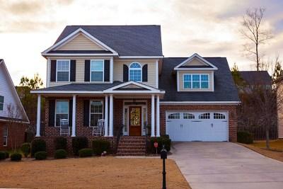Evans Single Family Home For Sale: 1204 Berkley Hills Pass