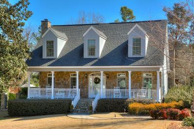 Augusta Single Family Home For Sale: 1022 Magnolia Drive