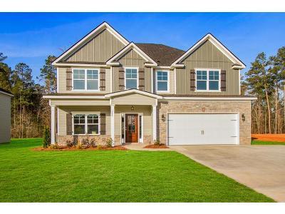 Evans Single Family Home For Sale: 727 Houston Lake Drive