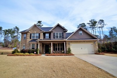 Aiken Single Family Home For Sale: 1117 Moultrie Drive