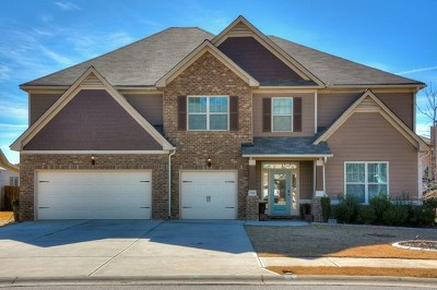 Grovetown Single Family Home For Sale: 708 Burch Creek Drive
