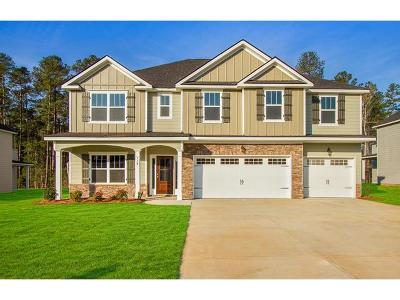 Evans Single Family Home For Sale: 729 Houston Lake Drive