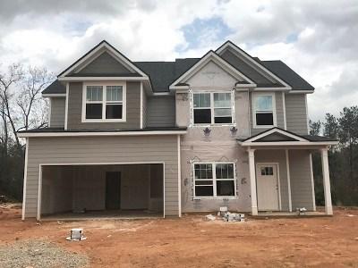 Evans Single Family Home For Sale: 767 Houston Lake Drive