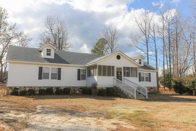 McDuffie County Manufactured Home For Sale: 1185 Harrison Drive