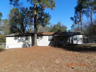 Richmond County Manufactured Home For Sale: 1705 Lawerence Road