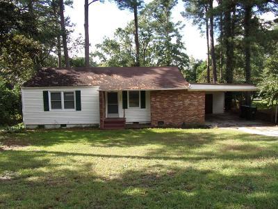 Augusta Single Family Home For Sale: 2823 Fairmont Street