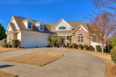 Grovetown Single Family Home For Sale: 704 Graves End Court