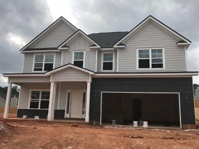 Evans Single Family Home For Sale: 762 Houston Lake Drive