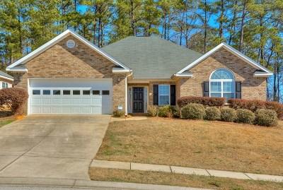 Evans Single Family Home For Sale: 673 Ventana Drive