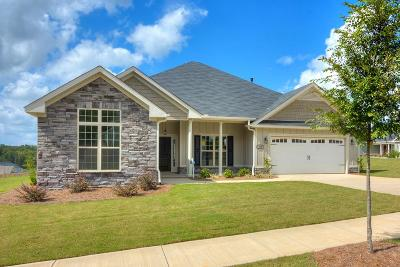 North Augusta Single Family Home For Sale: 487 Bridle Path Drive