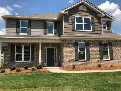 Grovetown Single Family Home For Sale: 4412 Raleigh Drive