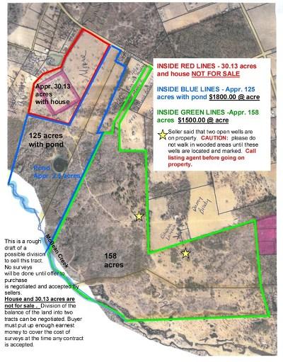 Hephzibah Residential Lots & Land For Sale: 000 Fulcher Road