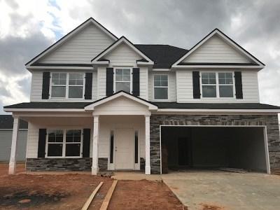 Evans Single Family Home For Sale: 772 Houston Lake Drive