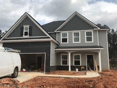 Evans Single Family Home For Sale: 763 Houston Lake Drive