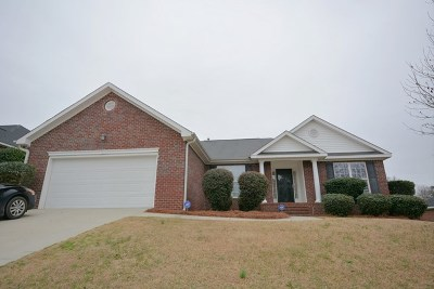Grovetown Single Family Home For Sale: 3030 Parkridge Drive