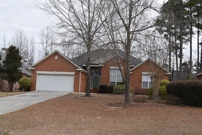 Evans Single Family Home For Sale: 1355 Shadow Oak Drive