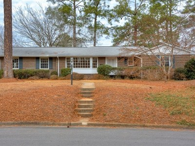 North Augusta Single Family Home For Sale: 702 Brooks Drive