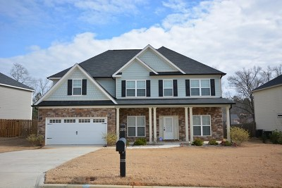 Evans Single Family Home For Sale: 1151 Waltons Pass