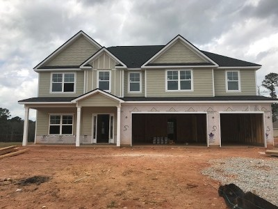 Evans Single Family Home For Sale: 797 Houston Lake Drive