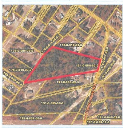 Richmond County Residential Lots & Land For Sale: 3054 Camp Josey Road