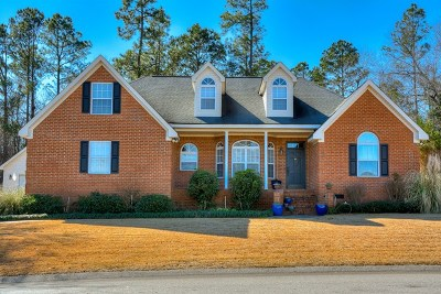 North Augusta Single Family Home For Sale: 330 Dove Lake Drive