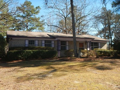 Richmond County Single Family Home For Sale: 2334 Ridge Road