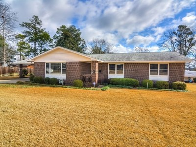 North Augusta Single Family Home For Sale: 1843 Paris Avenue