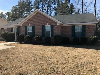 Hephzibah Single Family Home For Sale: 4848 Jasmine Way