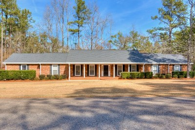 Evans Single Family Home For Sale: 4357 Fernbrook Crossing
