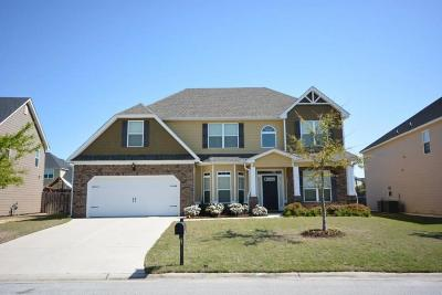 Evans Single Family Home For Sale: 2529 Ravenna Lane