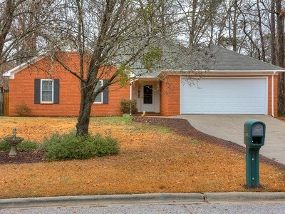 Evans Single Family Home For Sale: 617 Kimberley Place