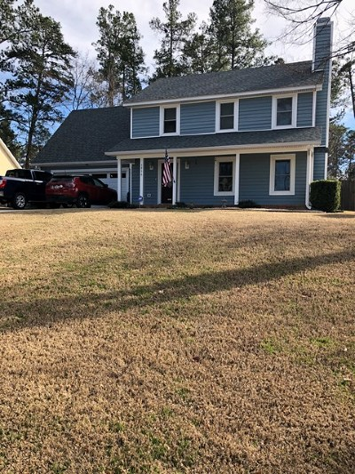 Martinez Single Family Home For Sale: 3956 Loblolly Trail