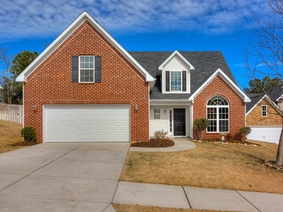 Grovetown Single Family Home For Sale: 1604 Sweet Meadow Lane